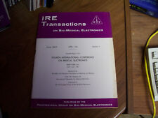 IRE Transactions on Bio-Medical Electronics- April 1962