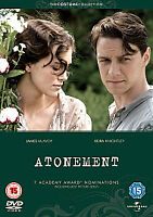 Atonement DVD 2011 New Sealed