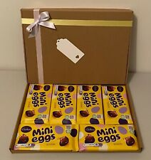 Cadbury Mini Eggs Bar Hamper NEW SPECIAL BIRTHDAY Rare Present Valentines