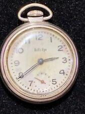 Eye Pocket Watch Vintage Westclox Bull's