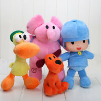 4pcs Doll Pocoyo Pato One Elly Stuffed Plush Bandai  Loula Figure Kids Toy Gift