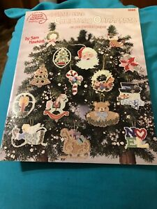 Counted Bead Christmas Ornaments on perforated paper pattern booklet 3595