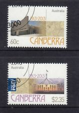2013 Australian Decimal Stamps -Centenary of Canberra - CTO set of 2