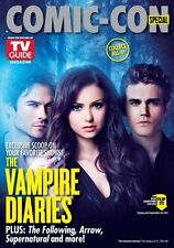 SDCC Comic Con 2014 TV Guide Vampire Diaries and Constantine