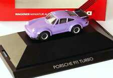 1:87 Porsche 911 turbo purple - herpa PC