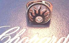 Authentic CHOPARD Happy Sun 18K Rose Gold & Diamond Ring-DEAL!!!