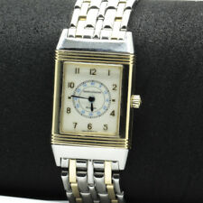 Jaeger LeCoultre Reverso wristwatch, 18ct Yellow Gold and Stainless Steel band