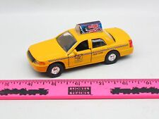 The Menards ~ Yellow New York Taxi car ~ Scale 1/36