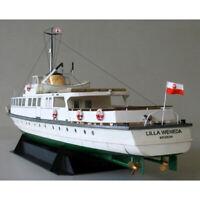 1:100 Poland Ferry Ship Fine 3D DIY Paper Card Model Buildin N8A9 SYH