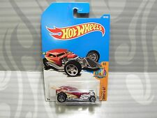2017 HOT WHEELS  ''SURF`S UP'' #100 = SURF CRATE = BURGANDY int