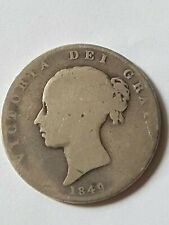 1849 Queen Victoria Shield Reverse Sovereign -