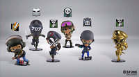 FULL SIX COLLECTION  Series 3 (Rainbow Six Siege) Gold Caveira