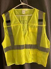 CSX Transportation Safety Vest 5 Point Breakaway Vest Various Sizes *New