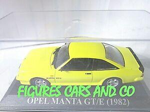 1/43  OPEL MANTA GT/E 1982  IXO QUERIDOS COCHES ALTAYA ESPAGNE