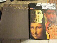 1970 - Les Merveilles Du Louvre - written in french well illustrated - DEB
