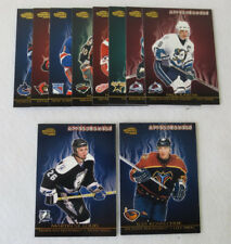 2003-04 Pacific Invincible Hockey Afterburners Set (1-10)