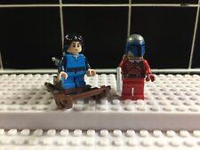Star Wars Lego-Jango Fett Navidad Minifiguras, Boba Fett Y Trineo