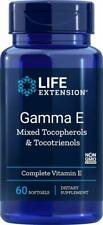 Life Extension Gamma E Mixed Tocopherols Tocotrienols 60 Softgels