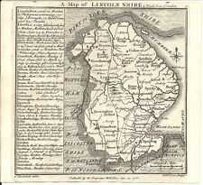 Antique map, Lincolnshire .