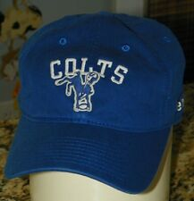 REEBOOK NFL Vintage Collection INDIANAPOLIS COLTS Blue Cap HAT Adjust. Adult