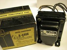 One Stancor A-4406 Input/Drive Transformer for 2A3,45,6A3,801,VT-62,VT-25 tubes