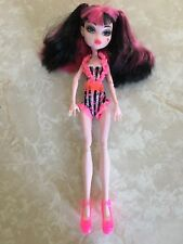 """Monster High 11"""" Doll DRACULAURA JUSTICE EXCLUSIVE SWIM BEACH SWIMSUIT"""