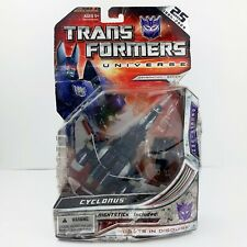 Transformers Universe Decepticon Cyclonus 25th Anniversary 2008 Damaged Package