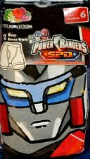 Power Rangers S.P.D Boy Size 6 Boxer Briefs 2 Pack Underwear New Factory Sealed