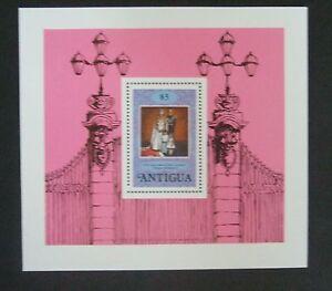 Antigua 1978 25th Ann Coronation MS Miniature sheet MNH UM unmounted