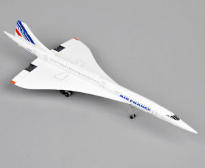 1:400 Scale France Concorde Diecast AirPlane Model Airliner 1976-2003 Collection