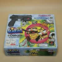 Namco Guncon GunBullet Controller Official Sony PlayStation SLPS 00929 with CD