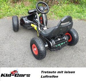 Tretfahrzeug Kettcar Gocart mit Pedal Kinderauto Tretauto Gokart für Kinder NEU
