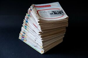 RADIO CONSTRUCTOR magazines x 65 - unbroken run August 1961 to December 1966