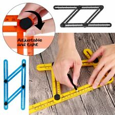 Four Sided Ruler Multi-Angle Slide Template  Professional Measuring Tool Adjust