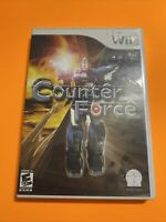 🔥 Nintendo Wii 💯 COMPLETE WORKING GAME - COUNTER FORCE 🔥SUPER-FUN