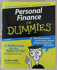 Personal Finance for Dummies, 4th Edition, 2003, Paperback