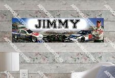Personalized/Customized Nascar Dale Name Poster Wall Art Decoration Banner