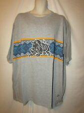 mens ecko unltd  t-shirt 3XB nwot tribal stripe rhino gray