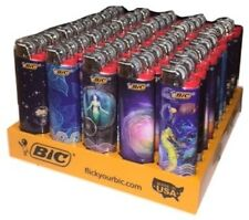 Bic EXPLORATION  Full Size Lighters 2017 /50 pieces Per tray