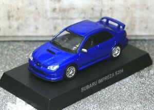 Kyosho 1/64 Subaru Collection Subaru Impreza S204 Blue