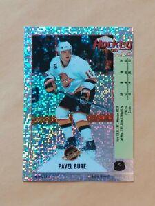 1992-93 Panini Hockey Sticker Sparkle Foil Pavel Bure Vancouver Canucks