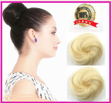 HAIR BUN UPDOS HAIR DONUT ROLLER  HAIR BUN CHIGNON FOR LONG HAIR * BLONDE*