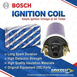 1 x Bosch Ignition Coil for Citroen DS 20 21 ID 21 F 2.0L 2.2L 4cyl 1965-1975