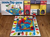 Vintage Mouse Trap Board Game From Ideal 1960s 100% COMPLETE
