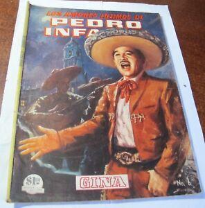 Los Amores intimos de Pedro Infante # 6 año 1964 Mexican Comic book