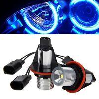 2Pcs 5W LED Blue Angel Eyes Halo Ring Light Bulb Marker For   E39 E53 E60 E61