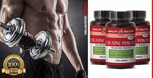 INGREDIENT QUALITY  - CREATINE POWDER -  foods and herbs - 3 Bottle, 300 gram