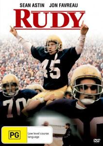 Rudy [Region 4] - DVD - Free Shipping. - New