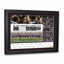 The Perfect Storm Signed 2007 Melbourne Storm Premiers Team Lithograph