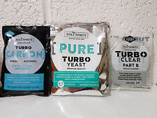 Still Spirits Triple Distilled Pack - Pure Turbo Yeast, Turbo Cear, Turbo Carbon
